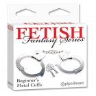 SF. Наручники - FF Beginner metal cuffs (Наручники - FF Beginner metal