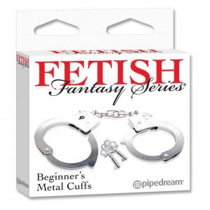SF. Наручники - FF Beginner metal cuffs (Наручники - FF Beginner metal
