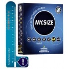 MY.SIZE 64 mm 3 pcs. condoms