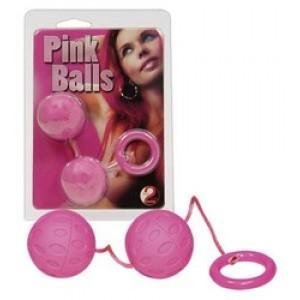 ВАГИНАЛЬНЫЕ ШАРИКИ PINK BALLS (розовые)